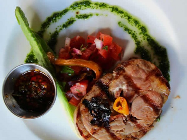 A pork dish at the Che Argentine Grill. Photos courtesy of Rupesh Kassen.