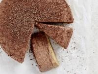 Chocolate Espresso Cheesecake slice