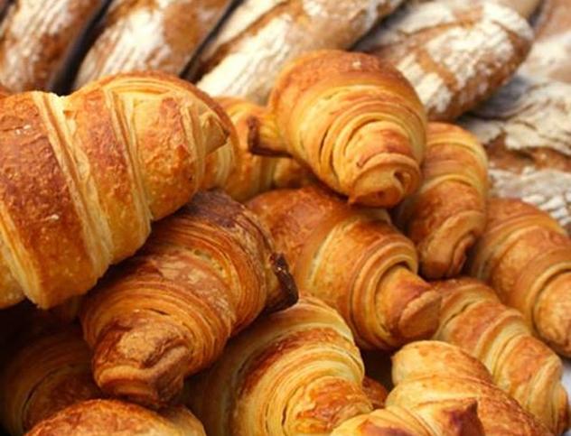 Croissants at Vovo Telo