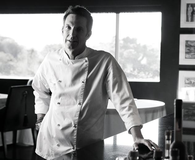 David Higgs in chefs whites
