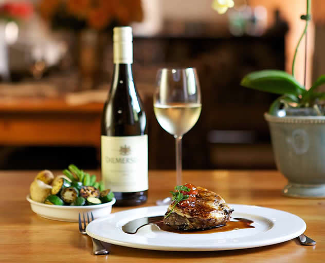 Fine dining at Diemersdal. Photo courtesy of the restaurant.