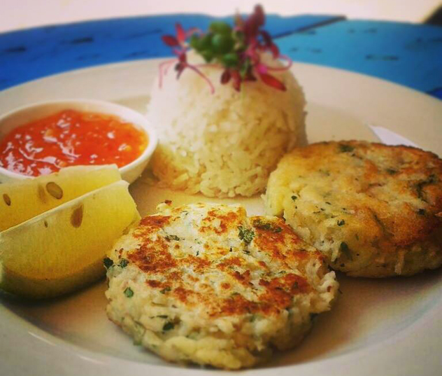 Fishcakes at Urban Eatery