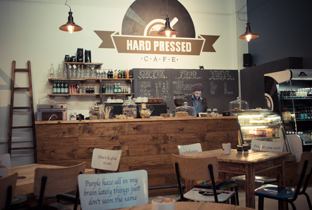 Hard Pressed Cafe. Photo courtesy of the restaurant.