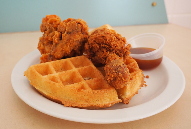 Mr Big Stuff chicken and waffle