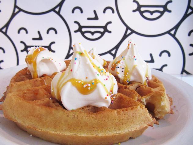Mr Big Stuff waffle and wallpaper