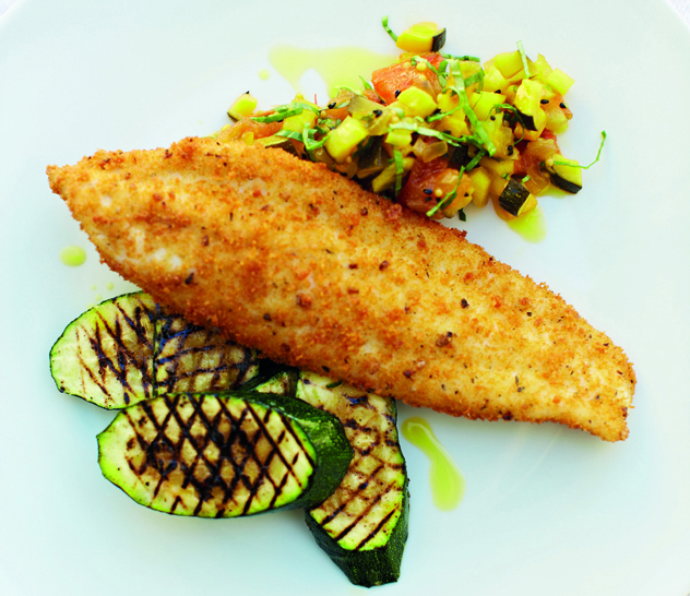 Nathan Outlaw's crumbed fish