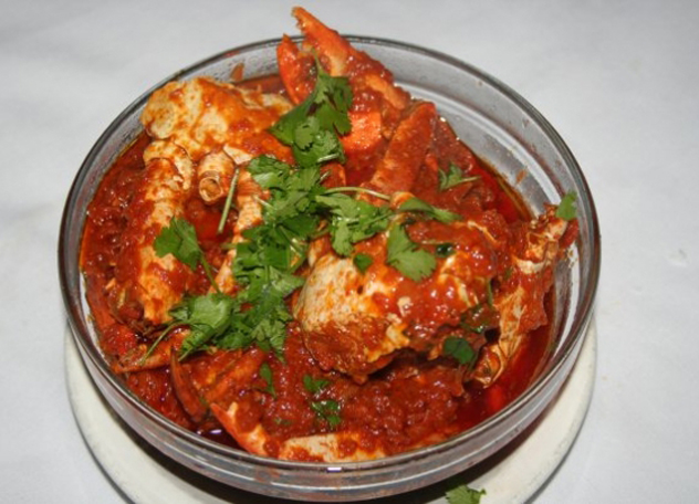 Seabelle crab curry