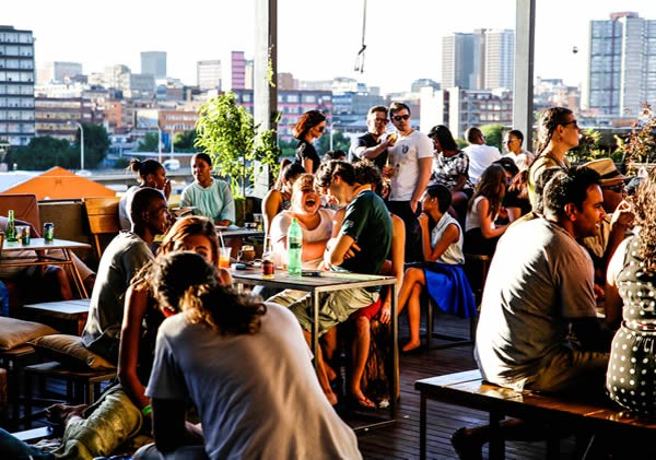 Sa 39 s hottest rooftop restaurants and bars eat out for Living room maboneng