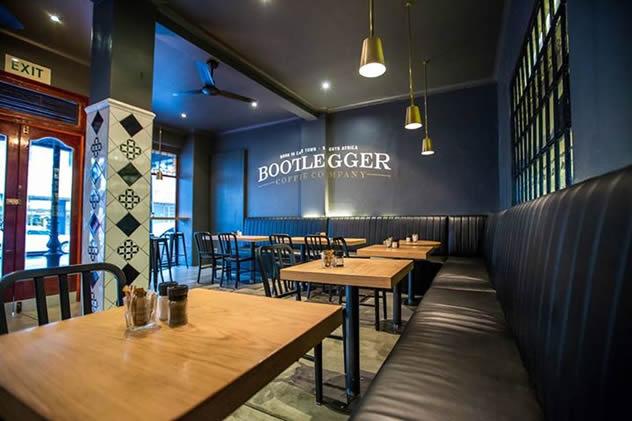 Bootlegger Coffee Company. Photo courtesy of the restaurant.