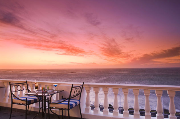 Leopard Bar at the Twelve Apostles Hotel. Photo courtesy of the restaurant.
