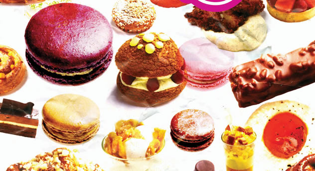 Adriano Zumbo's fanciful cakes. Photo courtesy of The Good Food and Wine Show.