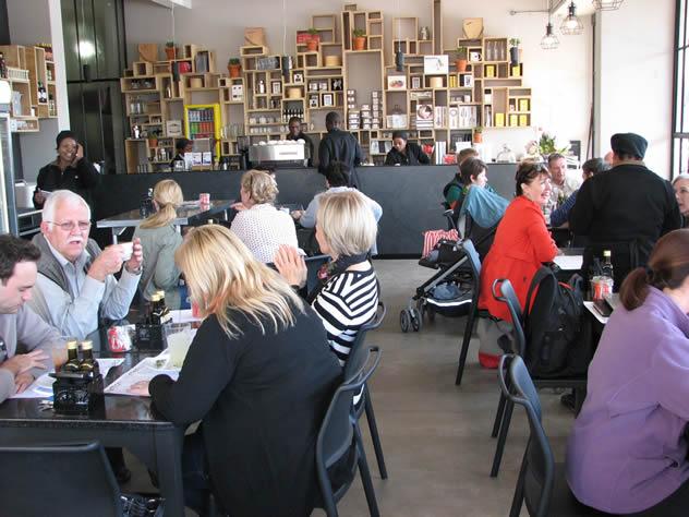 Carlton café. Photo courtesy of the restaurant.