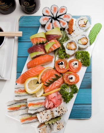 A Sushi Platter from Catch 22