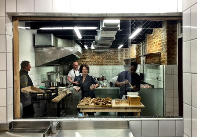 De Warenmarkt kitchen