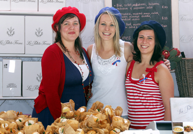 Franschhoek Bastille Festival_Food and wine marquee