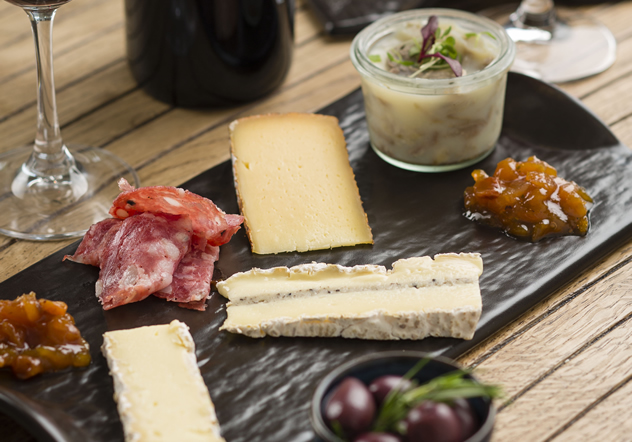 The cheese plate at Rupert and Rothschild Restaurant Photo courtesy of the restaurant.