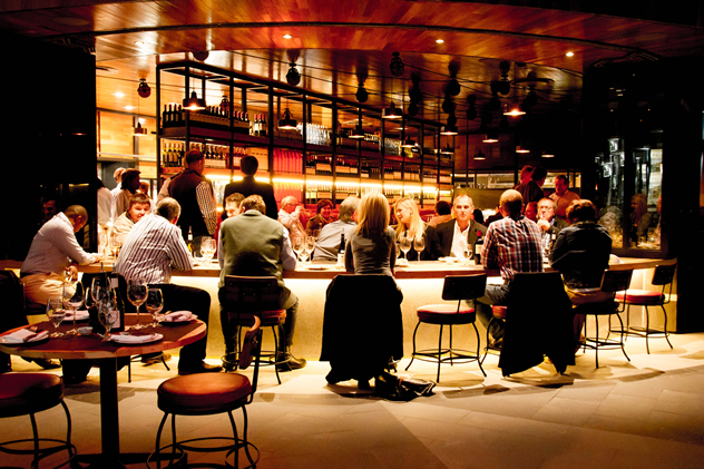 Inside at Hinterland Vleishandelaar. Photo courtesy of the restaurant.
