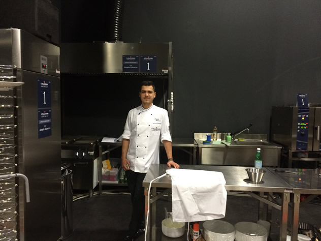 The S. Pellegrino Young Chef awards in Milan