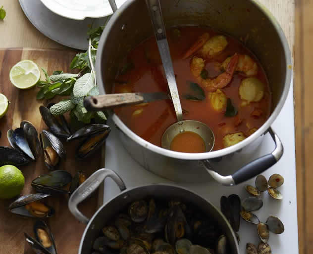 John Torode's Fish Curry. Photo courtesy of the Good Food and Wine Show.