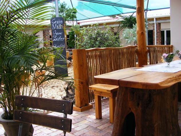 Grain Mill Organic Bistro. Photo courtesy of the restaurant.