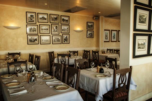 The interior at Mastrantonio Restaurant. Photo courtesy of the restaurant.