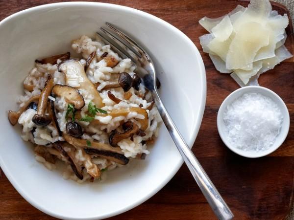 Noop's mushroom risotto. Photo courtesy of restaurant.