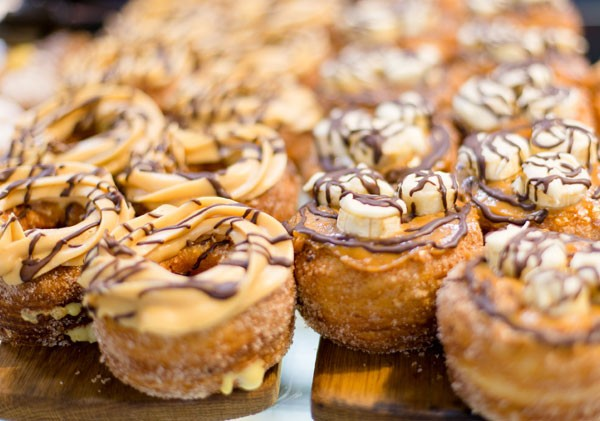 The cronuts at Old Town Italy. Photo courtesy of the restaurant.