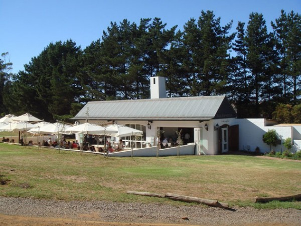 Outside at the Tables at Nitida. Photo supplied.