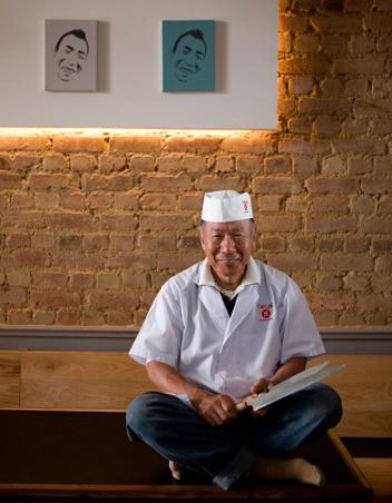 Takumi owner Papa San. Photo courtesy of the restaurant