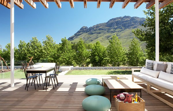 The comfortable setting at Tokara Delicatessen. Photo supplied.