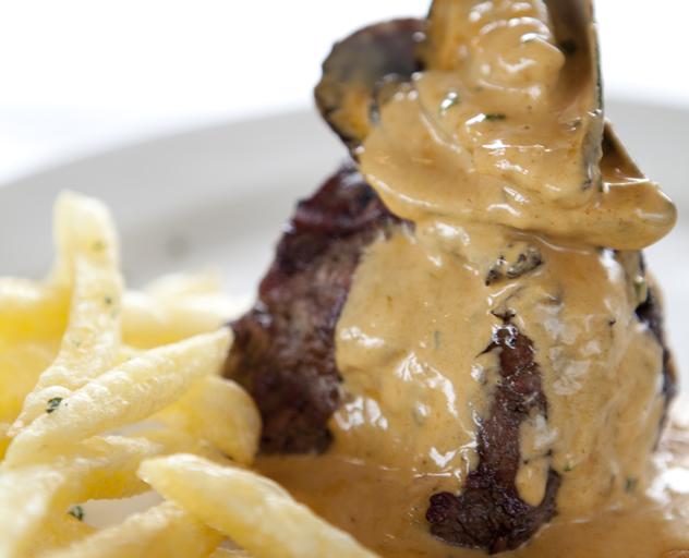 Turn 'n Tender mussel steak. Photo courtesy of the restaurant.