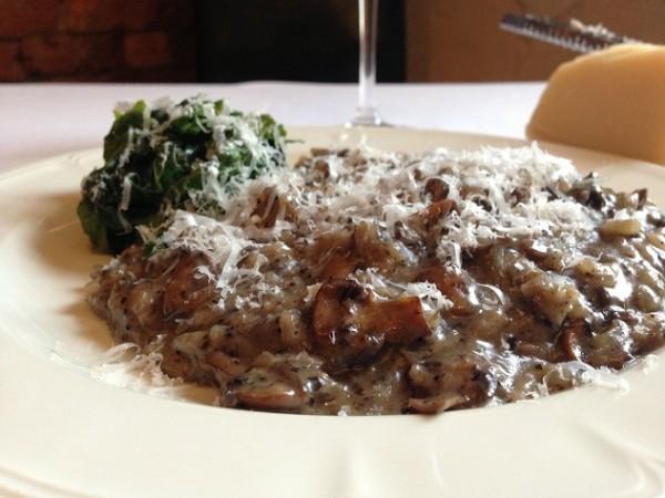 Societi Bistro mushroom risotto. Photo courtesy of restaurant.