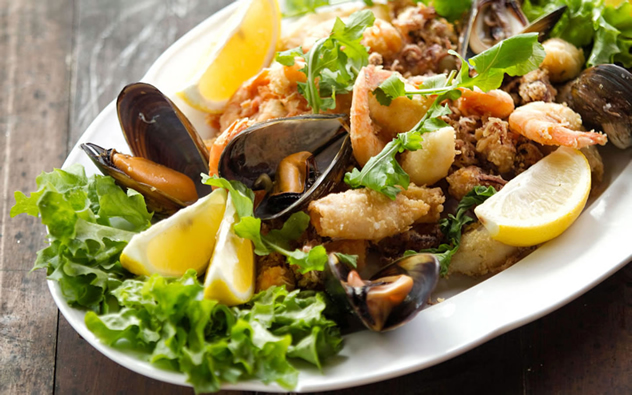 A seafood salad at Al Firenze. Photo courtesy of the restaurant.