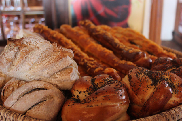 Baked goods at Juno in Paarl