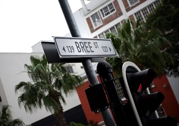 Bree Street sign