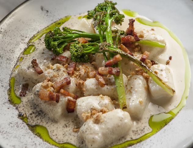 Burrata's gnocchi with gorgonzola cream. Photo courtesy of the restaurant.