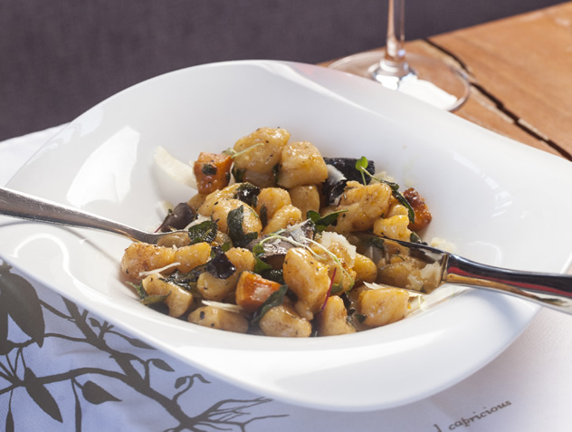 Cafe del Sol's butternut gnocchi. Photo courtesy of the restaurant.