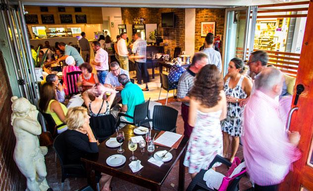 Con Brio Bistro interior. Photo courtesy of the restaurant.
