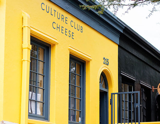 Culture Club Cheese in Bree Street. Photo courtesy of the restaurant.
