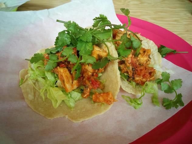 Tacos at El Burro Taqueria. Photo courtesy of the restaurant.