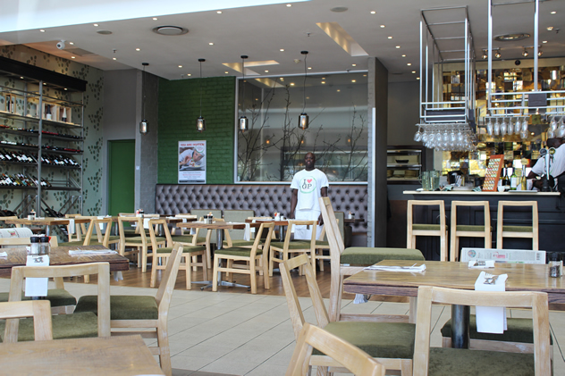 The interior at The Green Peppercorn Bistro. Photo courtesy of the restaurant.