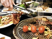 Galbi barbecue