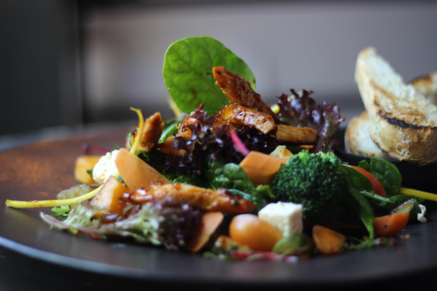 Delicious looking food at Haas Coffee Collective. Photo courtesy of VISI.
