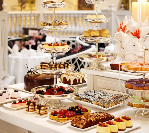 High Tea at Palm Court at The Oyster Box Hotel. Photo courtesy of the restaurant.
