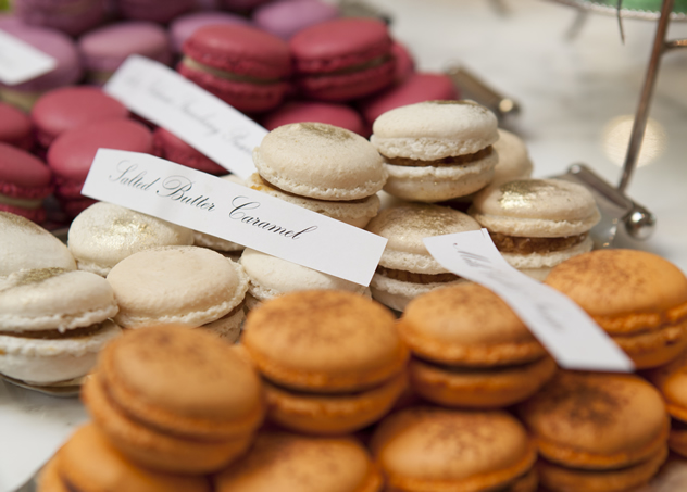Macaroons at tashas le parc. Photo courtesy of the restaurant.