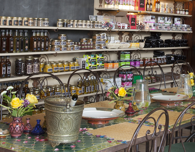 Preserves at La Terrasse Rooftop Café. Photo courtesy of the restaurant.