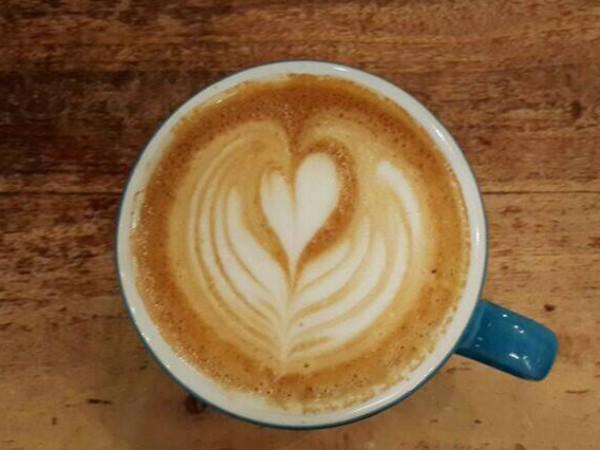 Lucky Bread Company coffee