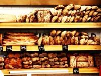 Lucky Bread Company shelves of bread