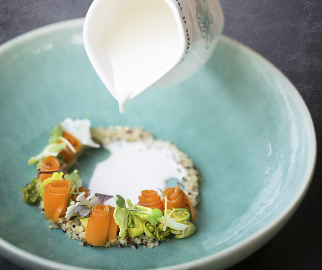 The cuisine on offer at Makaron. Photo courtesy of the restaurant.