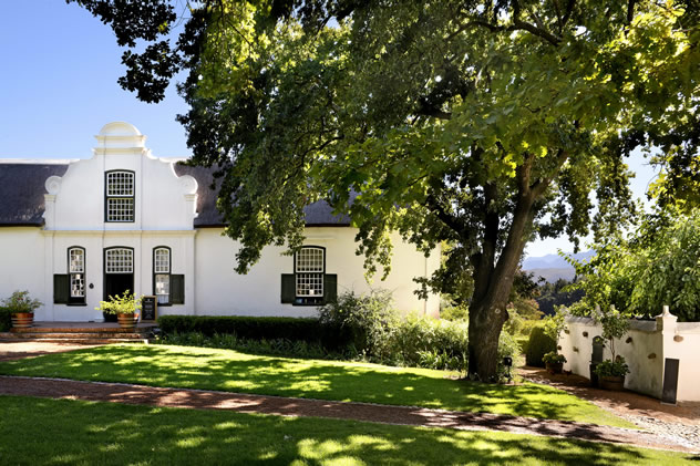 The Manor house at Boschendal